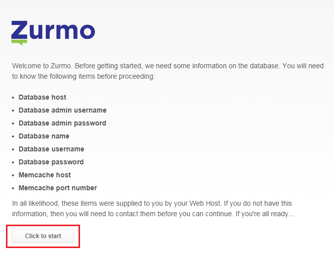Install Zurmo on a VPS