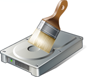 permanently shred wipe erase scrub a hard disk