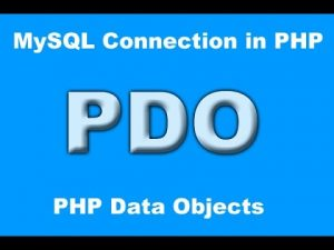 pdo -PHP Data Object